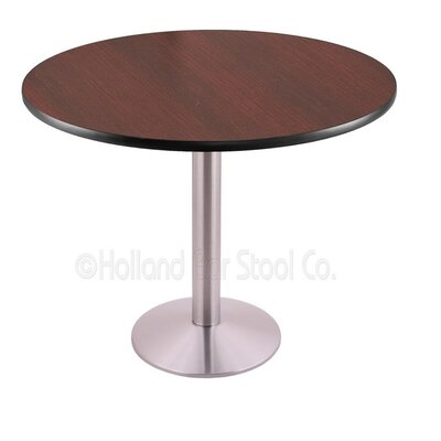 30 Pub Table Color: Stainless, Tabletop Size: 30 Dia