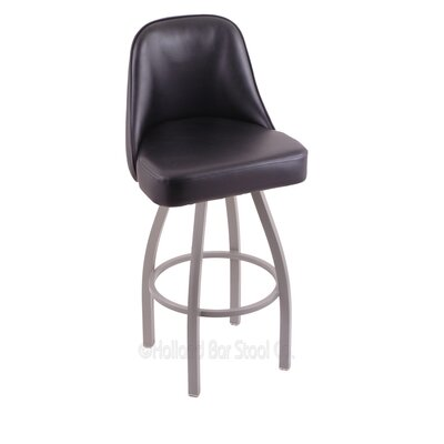 Grizzly 36 Swivel Bar Stool Base Finish: Black Wrinkle