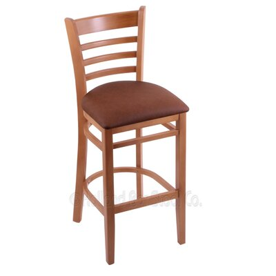 30 inch Bar Stool Upholstery: Rein Adobe, Finish: Medium