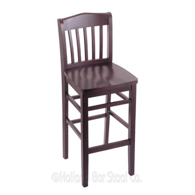 25 Bar Stool Finish: Dark Cherry