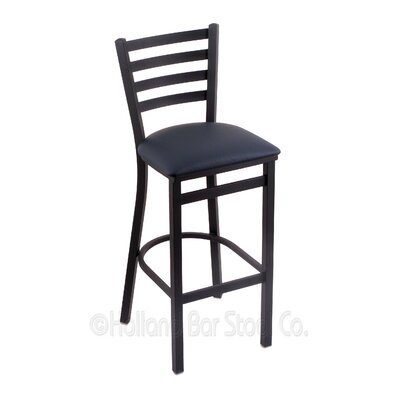 Jackie 25 Bar Stool Upholstery: Allante Dark Blue