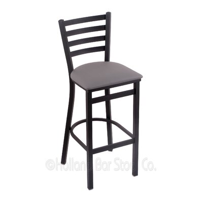 Jackie 25 Bar Stool Upholstery: Allante Medium Grey