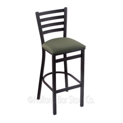 Jackie 25 Swivel Bar Stool Upholstery: Axis Grove