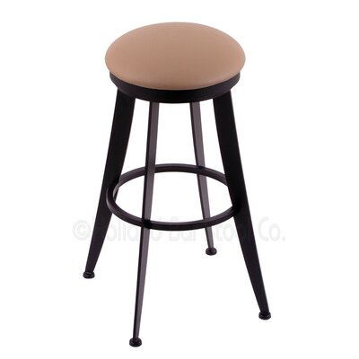 Laser 25 Swivel Bar Stool Upholstery: Allante Dark Blue