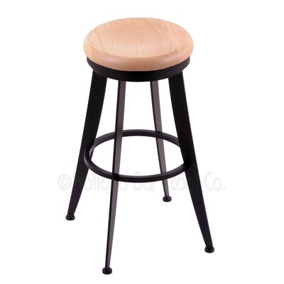 Laser 25 Swivel Bar Stool Upholstery: Natural Oak