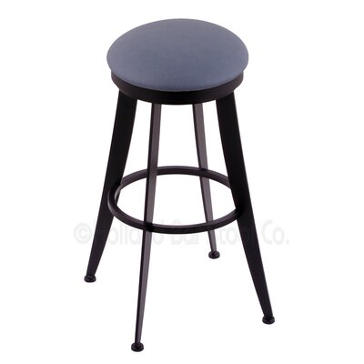Laser 25 inch Swivel Bar Stool Upholstery: Rein Bay