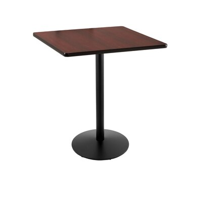 36 Pub Table Color: Black, Tabletop Size: 30 x 30