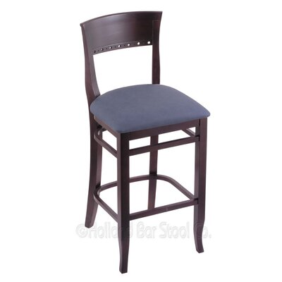 30 Bar Stool Upholstery: Rein Bay, Finish: Dark Cherry