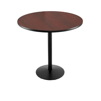 36 Pub Table Finish: Stainless, Tabletop Size: 24 Dia