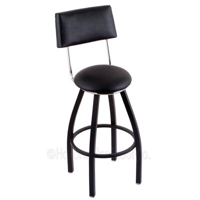 Classic Series 30 Swivel Bar Stool Finish: Black