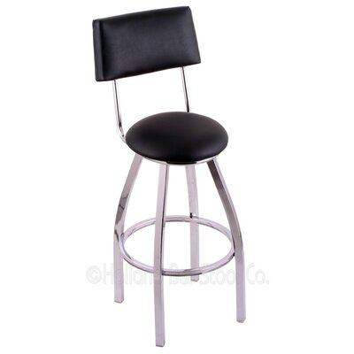 Classic Series 25 Swivel Bar Stool Finish: Chrome