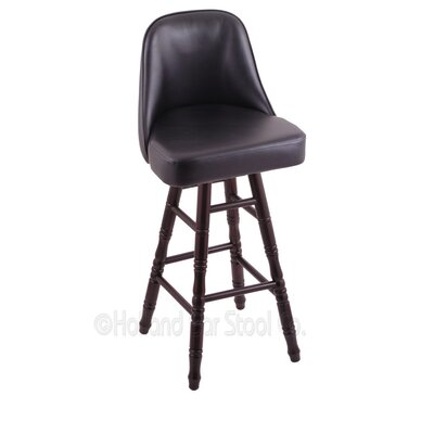 Grizzly 30 Swivel Bar Stool Base Finish: Dark Cherry Maple
