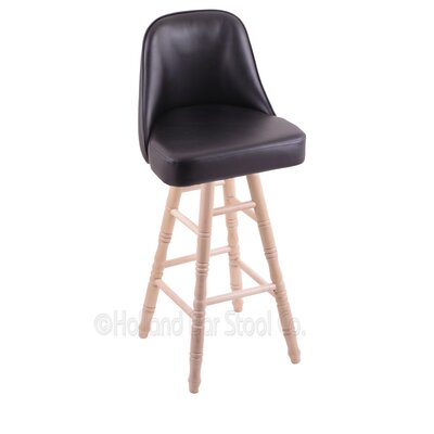 Grizzly 24 Swivel Bar Stool Base Finish: Natural Maple