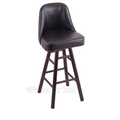 Grizzly 24 Swivel Bar Stool Base Finish: Dark Cherry Oak