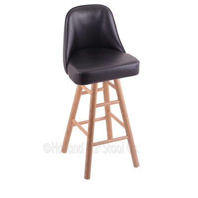 Grizzly Swivel Bar Stool Base Finish: Natural Oak