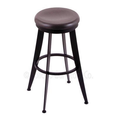 Laser 25 Swivel Bar Stool Upholstery: Dark Cherry Oak