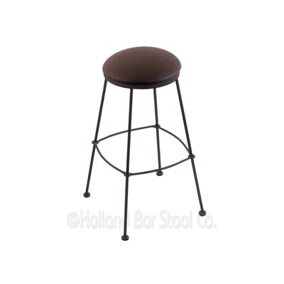 25 Bar Stool Upholstery: Rein Coffee