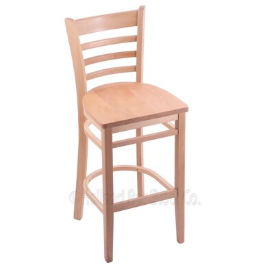 25 Bar Stool Finish: Natural