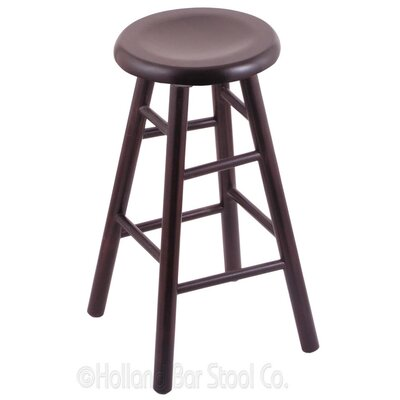 24 inch Swivel Bar Stool Finish: Dark Cherry Oak