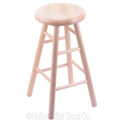 36 Swivel Bar Stool Finish: Natural Maple