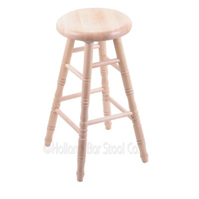 24 Swivel Bar Stool Finish: Natural Maple