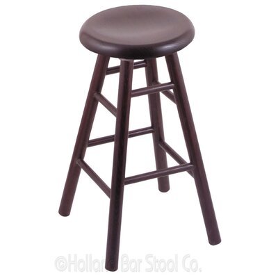 36 Swivel Bar Stool Finish: Dark Cherry Oak