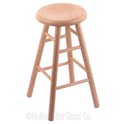 24 Swivel Bar Stool Finish: Natural Oak