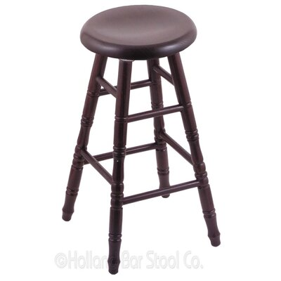 30 Swivel Bar Stool Finish: Dark Cherry Oak