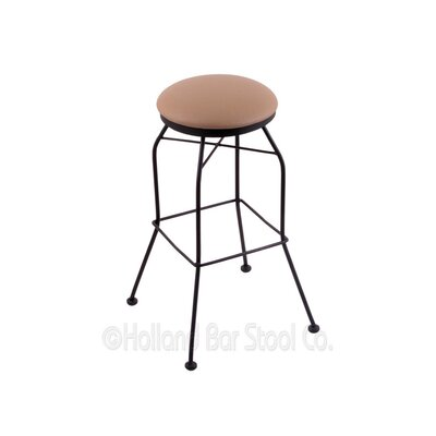30 Swivel Bar Stool Upholstery: Allante Beechwood
