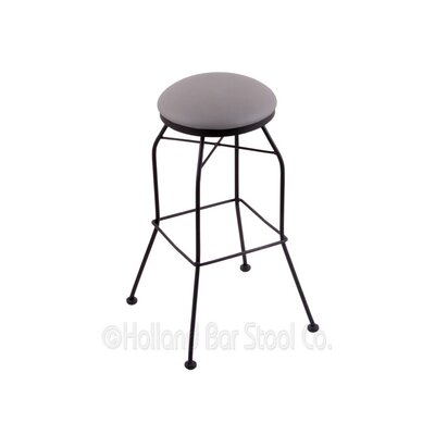 25 Swivel Bar Stool Upholstery: Allante Medium Grey