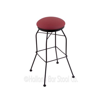25 Swivel Bar Stool Upholstery: Allante Wine