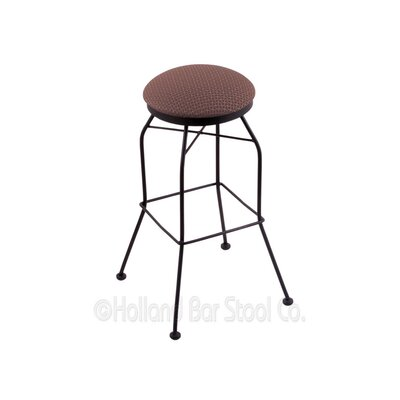 25 Swivel Bar Stool Upholstery: Axis Willow