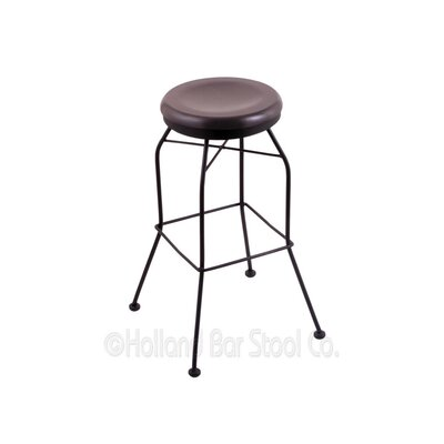 30 Swivel Bar Stool Upholstery: Dark Cherry Maple