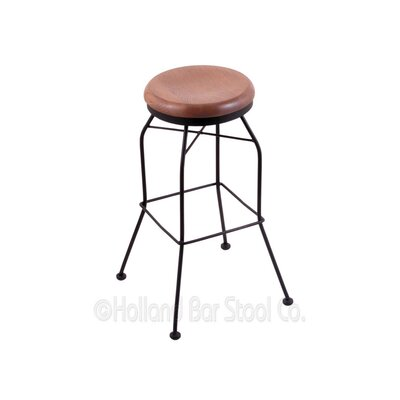 30 Swivel Bar Stool Upholstery: Medium Oak