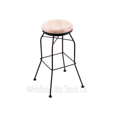 30 Swivel Bar Stool Upholstery: Medium Maple