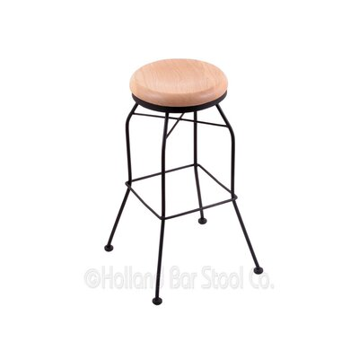 30 Swivel Bar Stool Upholstery: Natural Oak