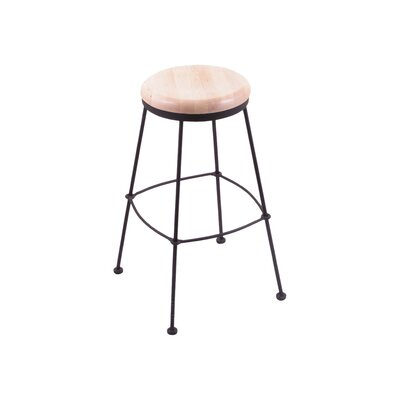 25 Bar Stool Upholstery: Natural Maple