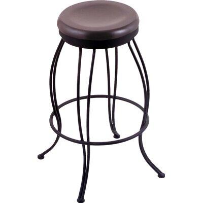 Georgian 30 Swivel Bar Stool Upholstery: Dark Cherry Maple