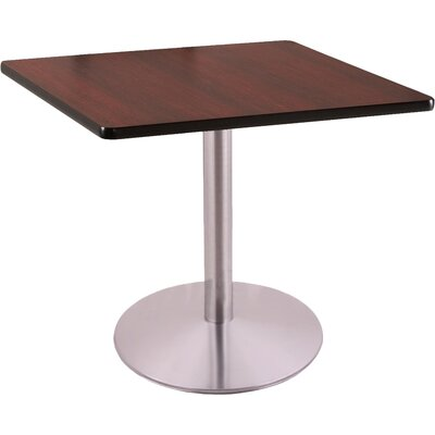 30 Pub Table Color: Stainless, Tabletop Size: 36 x 36