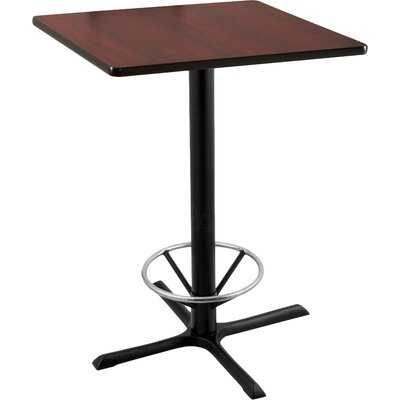 42 Pub Table Tabletop Size: 30 x 30