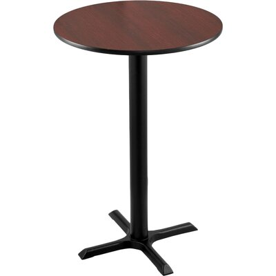 42 inch Pub Table Tabletop Size: 30 inch Dia