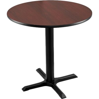 30 inch Pub Table Tabletop Size: 24 inch Dia