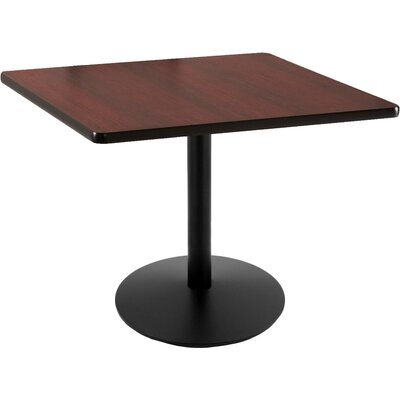 30 inch Pub Table Tabletop Size: 30 inch x 30 inch, Finish: Black
