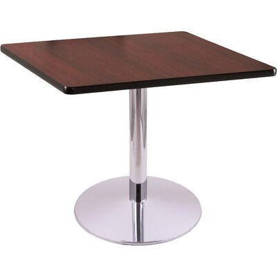 30 Pub Table Tabletop Size: 36 x 36, Finish: Chrome