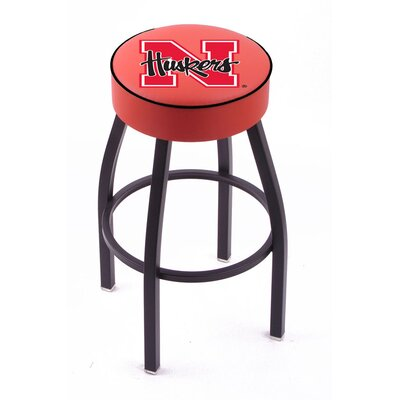 "Holland Bar Stool NCAA 30"" Swivel Bar Stool with Cushion - NCAA Team: Nebraska at Sears.com"