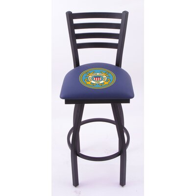 "Holland Bar Stool US Military Ladder-Back Barstool  - Size: 30"" Height, Team: United States Coast Guard at Sears.com"