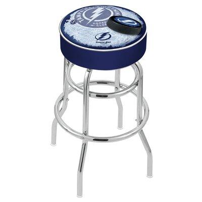 "NHL 30"" Swivel Bar Stool NHL Team: Tampa Bay Lightning L7C130TBLght-D2"