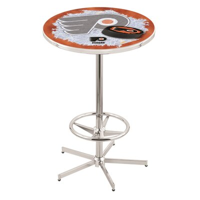 NHL Pub Table NHL Team: Philadelphia Flyers (Orange Background)