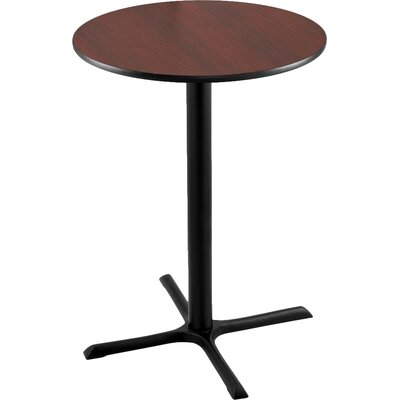 42 Pub Table Tabletop Size: 30 Dia