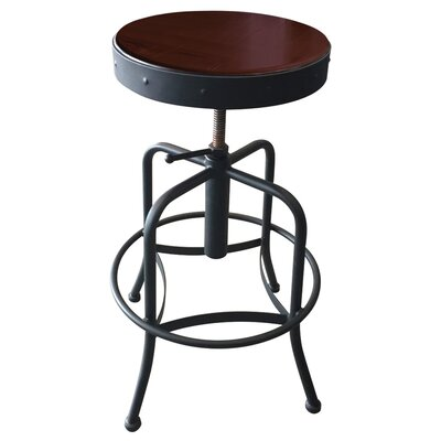 Adjustable Bar Stool Fabric: Upholstery